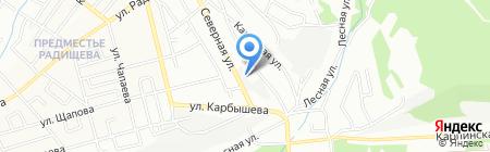 Идеал на карте Иркутска