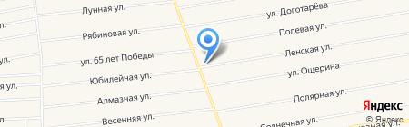 Квадратный метр на карте Хомутово