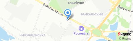 Фантазия на карте Иркутска