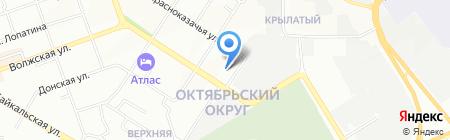 Биг сайз на карте Иркутска