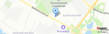 Аптека №235 на карте Иркутска