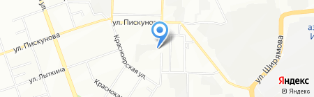 ЦСКА на карте Иркутска