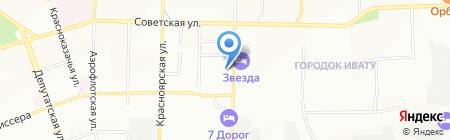 Смолин Е.В. на карте Иркутска