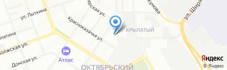 Средняя общеобразовательная школа №76 на карте Иркутска