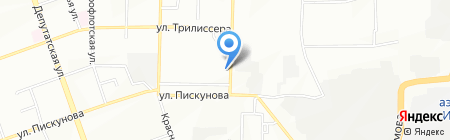 Арника на карте Иркутска