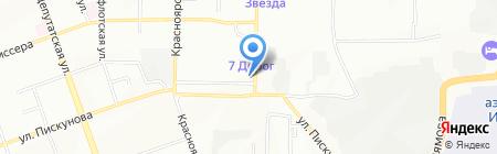 Высота на карте Иркутска