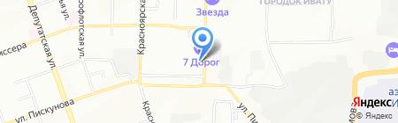 БАРРАКУДА на карте Иркутска