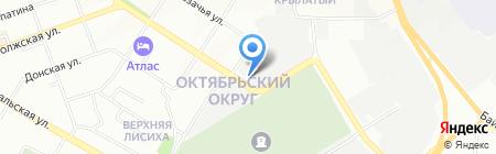 Иркутская база авиационной охраны лесов на карте Иркутска