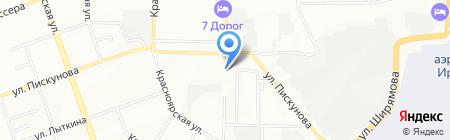 Ястреб на карте Иркутска