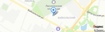 Детский сад №18 на карте Иркутска