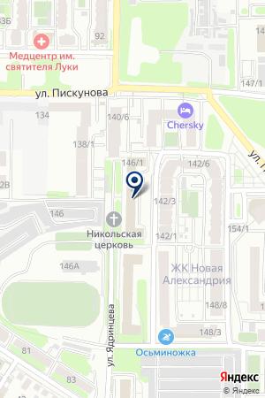 ПОЛЫ LINDO на карте Иркутска