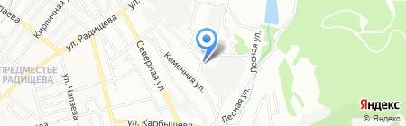 СТО на карте Иркутска