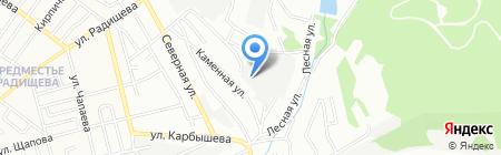 Бетоникс-строй на карте Иркутска