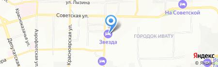 Бамбук на карте Иркутска