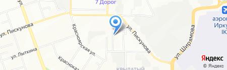 Шоколад на карте Иркутска
