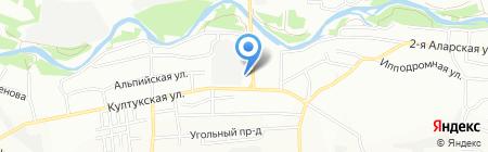 АЗС на карте Иркутска