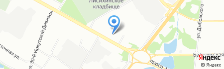 ГостСтрой на карте Иркутска