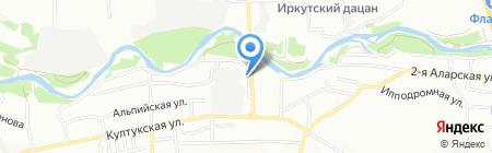 Партнер на карте Иркутска