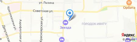 САВА СЕРВИС на карте Иркутска
