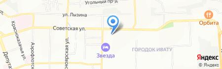 Интетекс на карте Иркутска