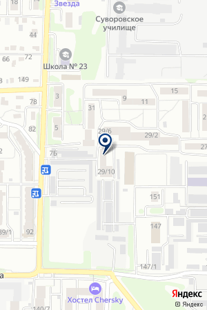 Сеть фирменных магазинов на карте Иркутска