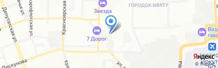 Здесь и сейчас на карте Иркутска