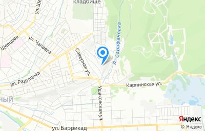 Местоположение на карте пункта техосмотра по адресу г Иркутск, ул Лесная, д 63