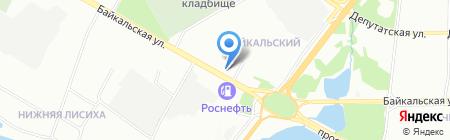 Парфюмерный рай на карте Иркутска