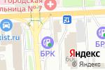 Схема проезда до компании Навигатор в Иркутске