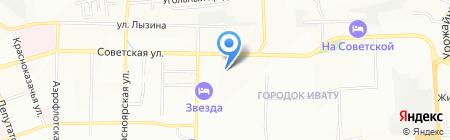 Триал-Спорт на карте Иркутска