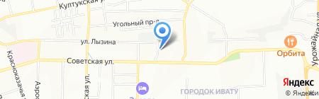 Доска объявлений на карте Иркутска