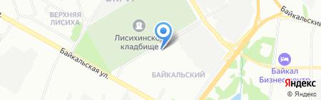 Ступени плюс на карте Иркутска