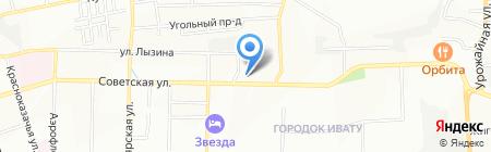 Банкомат Кредит Европа Банк на карте Иркутска