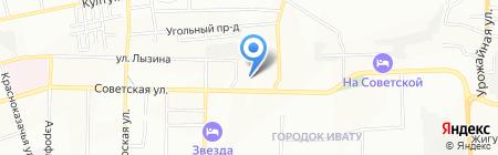 Вентком на карте Иркутска