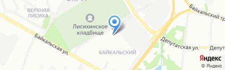 Детский сад №84 на карте Иркутска