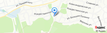Черепашка на карте Иркутска