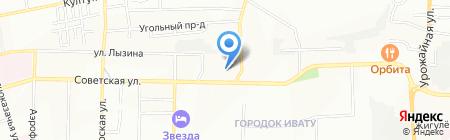 Банкомат АКБ МОСОБЛБАНК на карте Иркутска