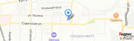 Новый Регион на карте Иркутска