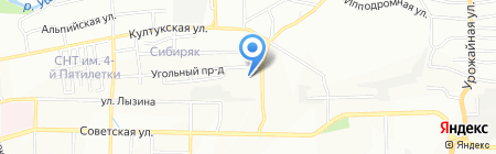 Диалог-авто+ на карте Иркутска