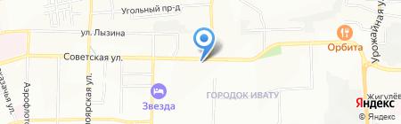 ВЕСТА на карте Иркутска