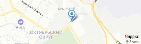 АЗС ИркОйл на карте Иркутска