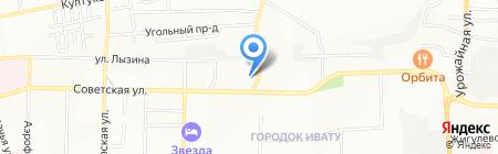 Партнер плюс на карте Иркутска