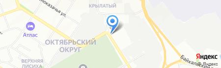 Osago38 на карте Иркутска