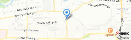 Абрикос на карте Иркутска