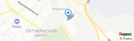 Азимут на карте Иркутска