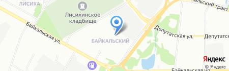 Детский сад №78 на карте Иркутска
