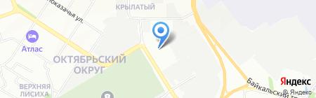 Адвокатское бюро братьев Фёдоровых на карте Иркутска