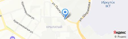 Юридическая компания на карте Иркутска