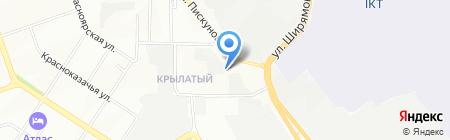ТИСС на карте Иркутска