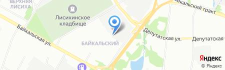 АвтоСтеклаСибири на карте Иркутска